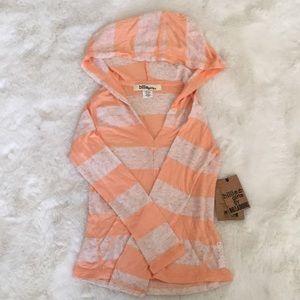 Billabong Girls long sleeve with hoodie size XXS